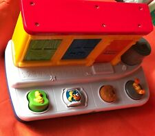 Vintage Sesame Street Pop Out Learning Electronic Toy