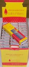 30 Packs of 10 (300) Ronson Disposable Mini Filters Full Box