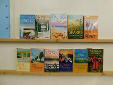 Nicholas Sparks 11 Bücher Romane romantische Romane Liebesromane
