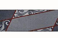 wash+dry Teppich waschbar Fußmatte Bodenmatte Läufer Belgo grey 75 x 190 cm
