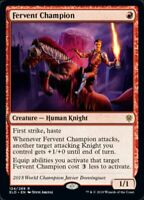 MTG x4 Fervent Champion Throne of Eldraine RARE NM/M Magic the Gathering
