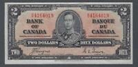 1937 (BC-22c) Bank of Canada Two Dollars EF-40
