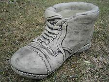 Boot planter stone garden ornament <<VISIT MY SHOP>>