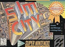 SimCity (Super Nintendo Entertainment System, 1991) Game Only