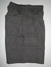 NEW school uniform Cargo shorts pants Grey size 5,6,8,10,12,14,16
