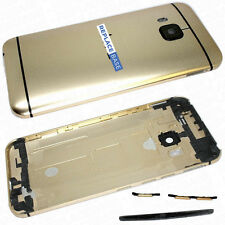 For HTC ONE M9  Battery Cover Rear housing Shell Camera Lens Gold Black OEM