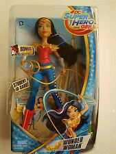 "DC Super Hero Girls WONDER WOMAN 12"" GOLD CAPE variant comics mattel chase"