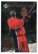Michael Jordan 97 Upper Deck REFLECTION Man of Word Basketball Card