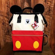 New Disney Mickey Backpack Bag Rucksack Anello type bag F/S JAPAN