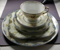 "Meito Fine China, Vintage ""Hudson"" Great 1st Starter Set Victorian 6 Pc.Setting"