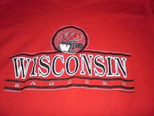 Vintage Wisconsin Badgers red crewneck sweatshirt XL 46 Bucky Badger