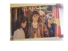 Starship Poster Band Shot Jefferson Airplane Old