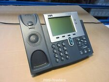 Cisco CP-7941G 7941G Unified VOIP IP Phone Telephone Telefoon EXCL Handset HORN