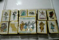 All Night Media Wizard Of Oz Wood Rubber Stamp Set of 11-Dorothy-toto-Witch   a2