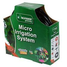 Kingfisher Micro Irrigation Garden Hanging Basket Watering Kit Set