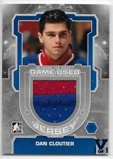 12/13 BETWEEN THE PIPES 'FINAL VAULT' SILVER GAME JERSEY #M12 Dan Cloutier 1/1
