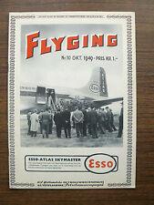 "Norway Norvegian Civil Aviation Magazine ""Flyging"" (""Flight"") N 10 1949"
