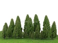 20pcs 5-16cm Model Trees Train Railway Architecture Forest Park Scenery Layout