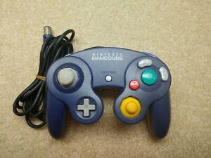 Original Nintendo GameCube Controller Spice Orange Skeleton Char's Indigo/Clear