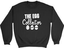 The Egg Collector Easter Boys Girls Kids Childrens Jumper Sweatshirt