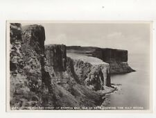 The Rugged Coast Of Staffin Bay Kilt Rocks Isle Of Skye RP Postcard 157b