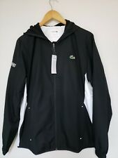 Lacoste Sport Tracksuit Size L Hooded WH9511 Men's Athletic Black/White