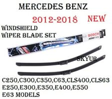 Front Windshield Wiper Blade Set For Mercedes W204 W207 W212 W218 BOSCH NEW