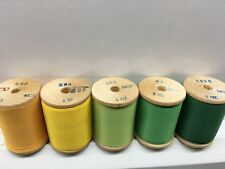 Lot of 5 Gudebrod Shade Pack #1 Fishing Rod wrapping thread size A. 5 1 Oz S.
