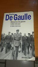Charles de Gaulle - Mémoires de guerre - Omnibus (1994)