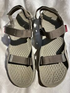 Merrell Boulder Men's Brown Double Strap Outdoor Sandals Size 13/46