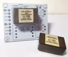 Universal LUNDAHL dual signal transformer board