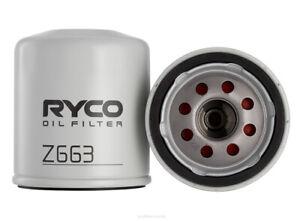 Ryco Oil Filter Z663 fits Chrysler Sebring 2.0 CRD, 2.4 VVT, 2.7