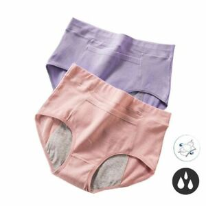 1 Pc Women Leak Proof Menstrual Panties Physiological Widen Underwear Period Sof