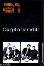 A1 - CAUGHT IN THE MIDDLE 2002 UK CASSINGLE CARD SLEEVE SLIP-CASE BEN ADAMS