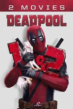Deadpool 1 & 2 DVD Set - Brand New - Ryan Reynolds - Free Shipping