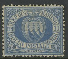 SAN MARINO, MINT, #7, NG, TYPICAL CENTERING