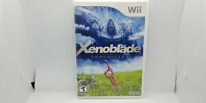 Xenoblade Chronicles, Wii, Complete, Reversible Cover Art, Excellent Condition