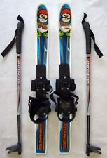 NEW WHITEWOODS KID'S XC cross country 70cm SKIS & BINDINGS & POLES SET PACKAGE