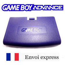 Cache pile Violet Game Boy Advance neuf [ Battery cover Gameboy GBA ] Purple