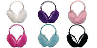 Thinsulate - 3 Pack Childrens Cute Fluffy Adjustable Foldable Insulated Earmuffs