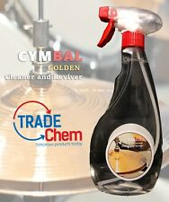 More details for cymbal golden cleaner and reviver 500ml spray  - supreme cleaning action