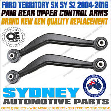 BRAND NEW PAIR Rear Upper Control Arm FORD Territory SX SY SZ RWD AWD LEFT+RIGHT