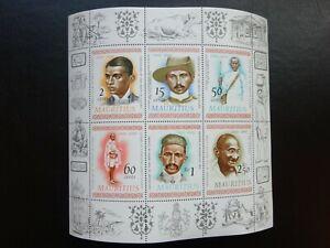 Mauritius Stamp Mini-Sheet 406 100th Anniversary of GANDHI'S Birth MNH