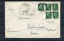 Italien Bedarfsbrief 25 Cent. MeF nach Reichenbach/Vogtland - b2257