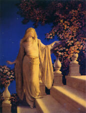 Enchantment  by Maxfield Parrish   Giclee Canvas Print Repro