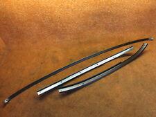 Set 3 x Halteschiene für Dichtung an  der Frontscheibe A-Säule und Dach VW EOS