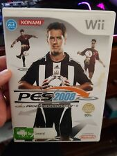 PES 2008 (no booklet) -  NINTENDO WII - FREE POST *