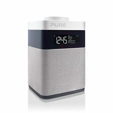 Pure Pop Mini P240 Portable Digital DAB & FM Radio Music Sound White Grey