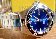 INVICTA PRO DIVER 15184 BLUE DIAL MENS STAINLESS 44MM IMPACT CASE WATCH NEW