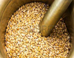 Organic Golden Flaxseed /Linseed (Flax Seed /Lin seeds) 20g  to  1kg